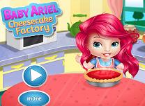 Bebelusa Ariel Face Prajitura cu Branza