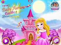 Bebelusa Aurora Decoreaza Castelul
