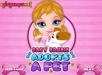 Bebelusa Barbie Adopta un Catel
