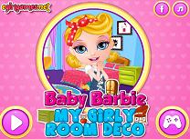 Bebelusa Barbie Decoreaza Camera