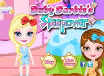 Bebelusa Barbie Petrecere in Pijamale