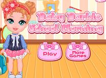 Bebelusa Barbie Pregatire de Scoala