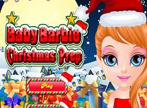 Bebelusa Barbie Pregatiri de Craciun