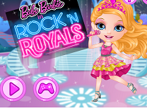 Bebelusa Barbie in Rockeri si Roiali