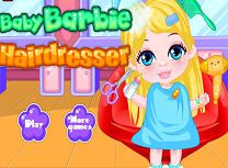 Bebelusa Barbie la Coafor