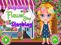 Bebelusa Barbie la Florarie