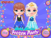 Barbie la Petrecerea Frozen