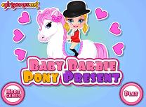 Bebelusa Barbie si Poneiul