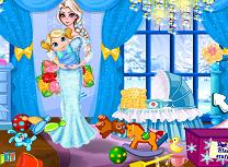 Bebelusa Elsa Curata Camera