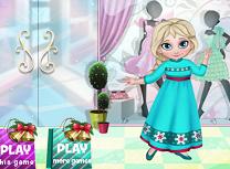Bebelusa Elsa Haine de Iarna