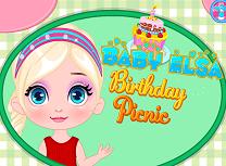 Bebelusa Elsa la Picnic