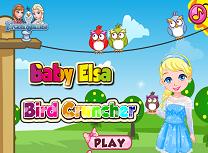 Bebelusa Elsa si Pasarile