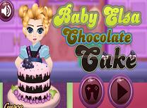 Bebelusa Elsa si Tortul de Ciocolata
