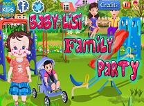 Bebelusa Lisi Petrecere cu Familia