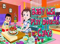 Bebelusa Lisi si Platilina Play Doh
