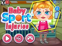Bebelusa Ranita la Sport