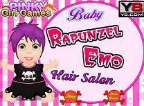 Bebelusa Rapunzel Coafuri Emo