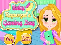 Bebelusa Rapunzel Ziua Jocului
