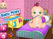 Bebelusa Rosy Are Gripa