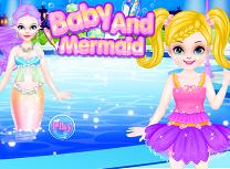 Bebelusa si Sirena