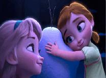 Bebelusele Anna si Elsa Puzzle