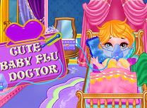 Bebelusul Dragut Are Gripa
