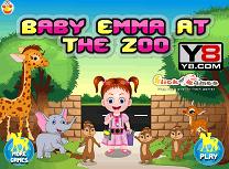 Bebelusul Ema la Zoo