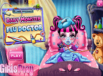 Bebelusul Monster High Are Gripa