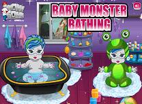 Bebelusul Monster High Face Baie