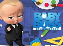 Bebelusul Sef Carte de Colorat