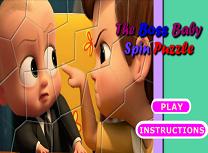 Bebelusul Sef Puzzle Rotitor