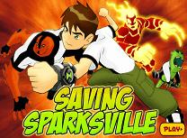 Ben 10 Salveaza Sparksville