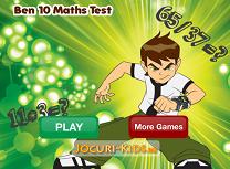 Ben 10 Test la Matematica