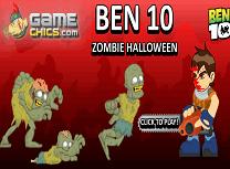 Ben 10 si Zombie de Halloween