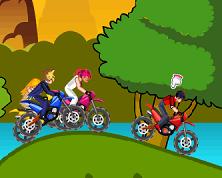 Beyblade Curse cu Motociclete