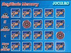 Beyblade de Memorie