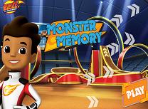 Blaze si Masinile Monstru Memorie