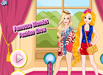 Blonde Faimoase Concurs de Moda