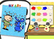 Blue Clue de Colorat