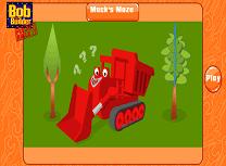 Bob cu Buldozerul in Labirint