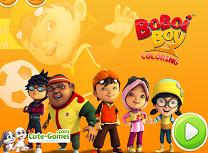 Boboiboy de Colorat