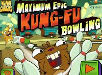 Bowling cu Marmotele Kung Fu