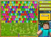 Bubble cu Minecraft