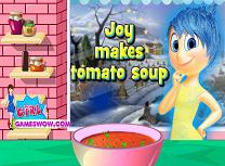 Bucurie Gateste Supa de Rosii