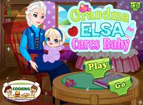 Bunica Elsa si Nepoata Ei