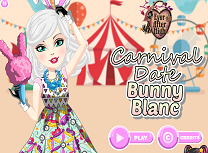 Bunny Blanc la Carnaval