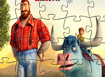 Bunyan si Babe Puzzle