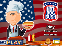Bush Face Hot Dog