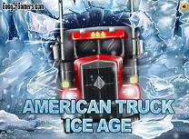 Camionul American Iarna
