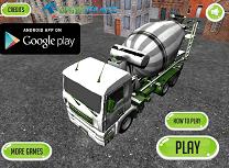 Camionul de Constructii 3D